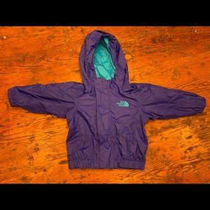 North Face infant rain jacket